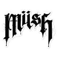 MUSH Logo Stickers
