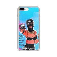 Girls Just Wanna Have Fund$ iPhone Case