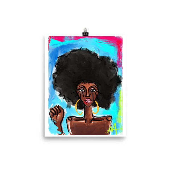 Black Girl Magic Print