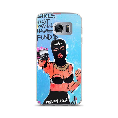 Girls Just Wanna Have Fund$ Samsung Case
