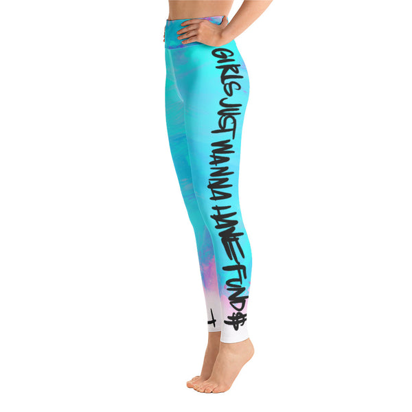 Miami Vice GJWHF$ Yoga Leggings