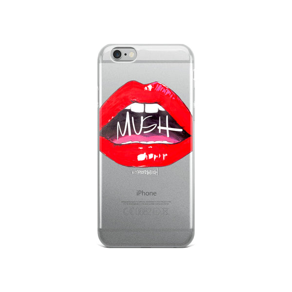 MUSH Lips iPhone Case