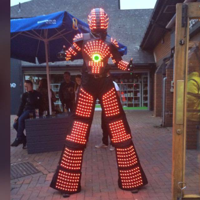 Big Sun Led Robot