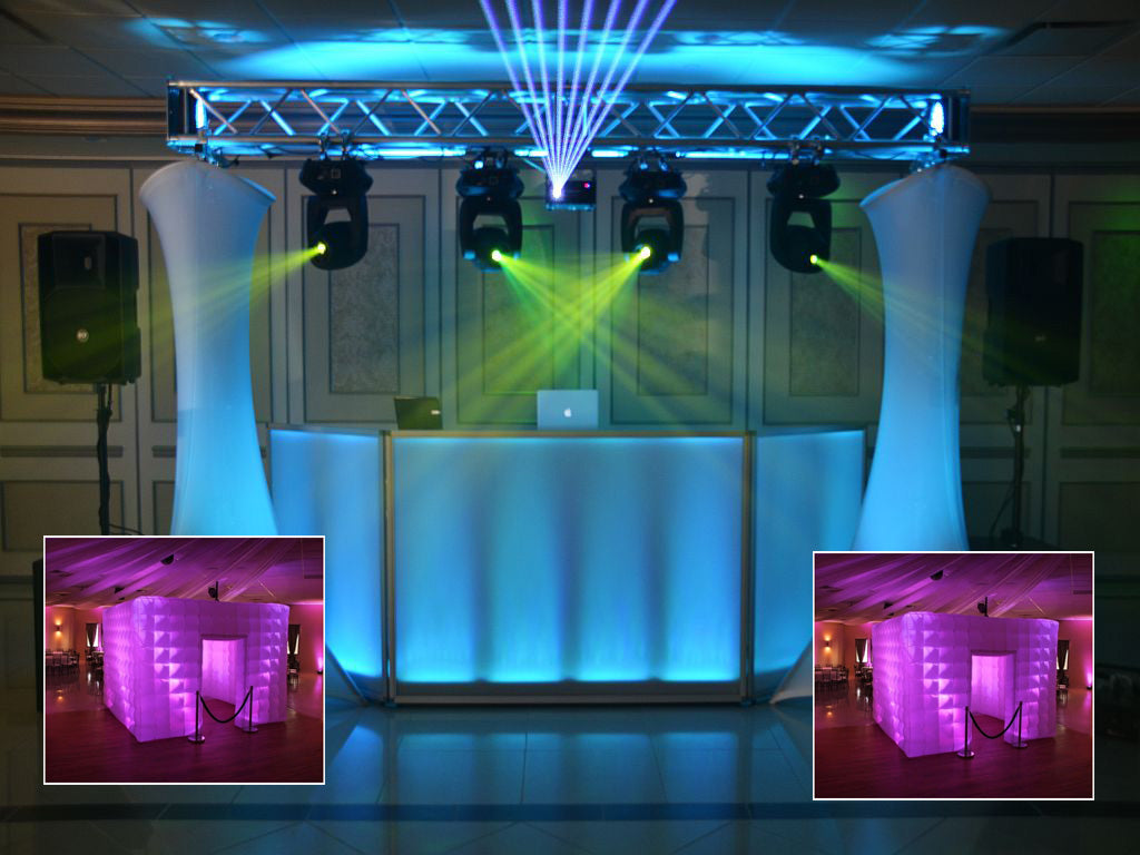 Elite Package DJ & Photo Booth