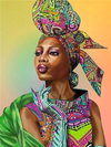 African Queen 3 - Diamond Painting Kit