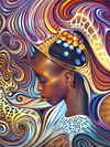 African Queen 4 - Diamond Painting Kit