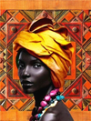 African Queen 8 - Diamond Painting Kit
