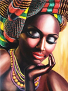 African Queen 9 - Diamond Painting Kit