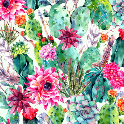 Cactus Mosaic - Diamond Painting Kit