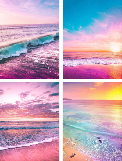 Colorful Beaches - Diamond Painting Kit
