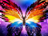 Colorful Butterfly - Diamond Painting Kit