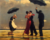 Couple Dancing in the Rain - Paint By Numbers Kit