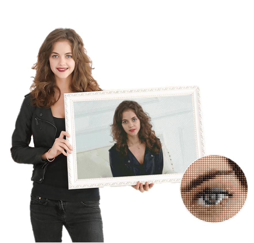 Custom Printed Diamond Painting Kit - My Diamond Paintings