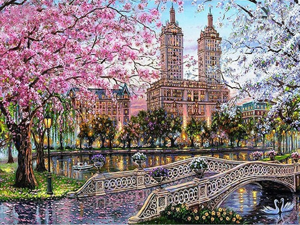 European Spring - Diamond Painting Kit