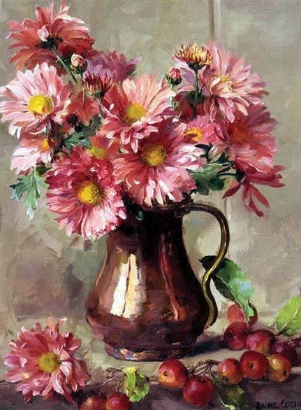 Flowers in Vase 5 - Diamond Painting Kit