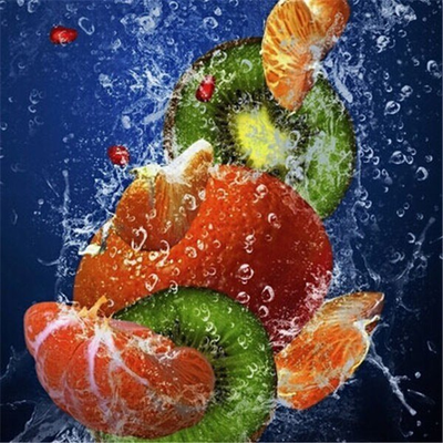 Fresh Fruit - Diamond Painting Kit