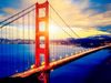 Golden Gate Bridge - Diamond Painting Kit