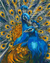 Golden Peacocks - Paint By Numbers Kit