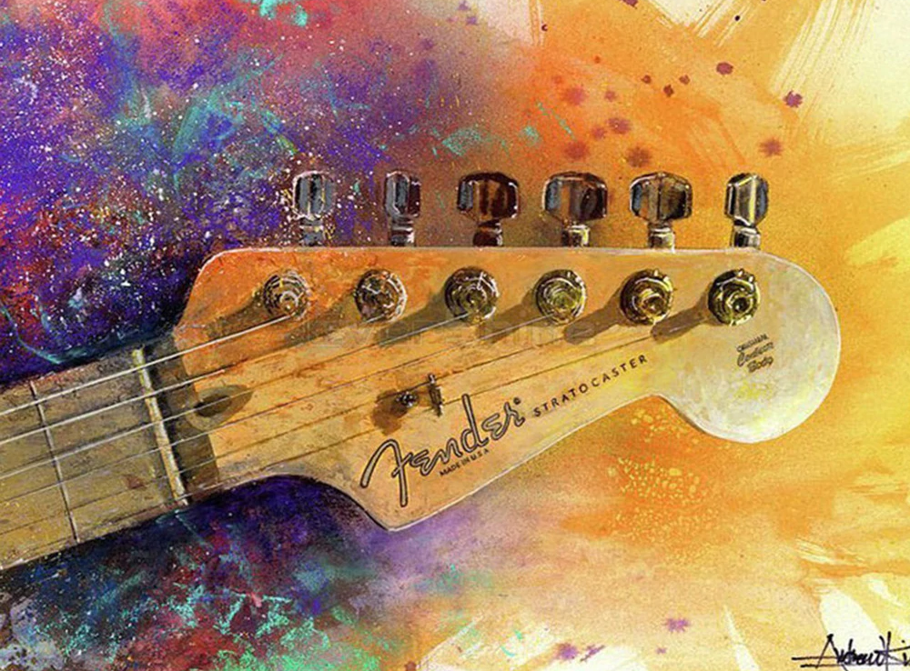 Guitar - Diamond Painting Kit