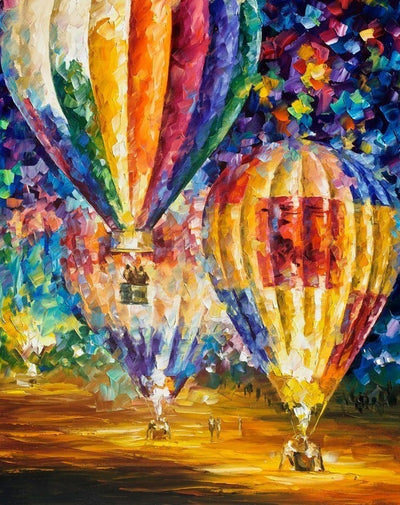 Hot Air Balloons - Diamond Painting Kit
