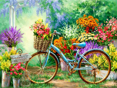 My Bicycle - Diamond Painting kIt