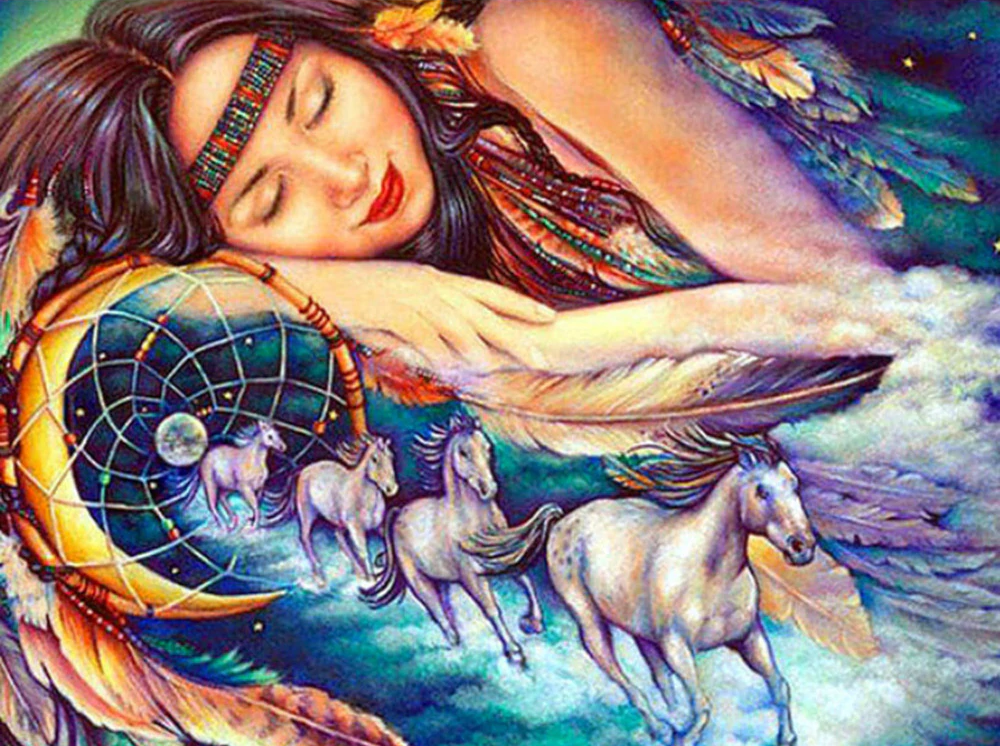 Native Dreams - Diamond Painting Kit