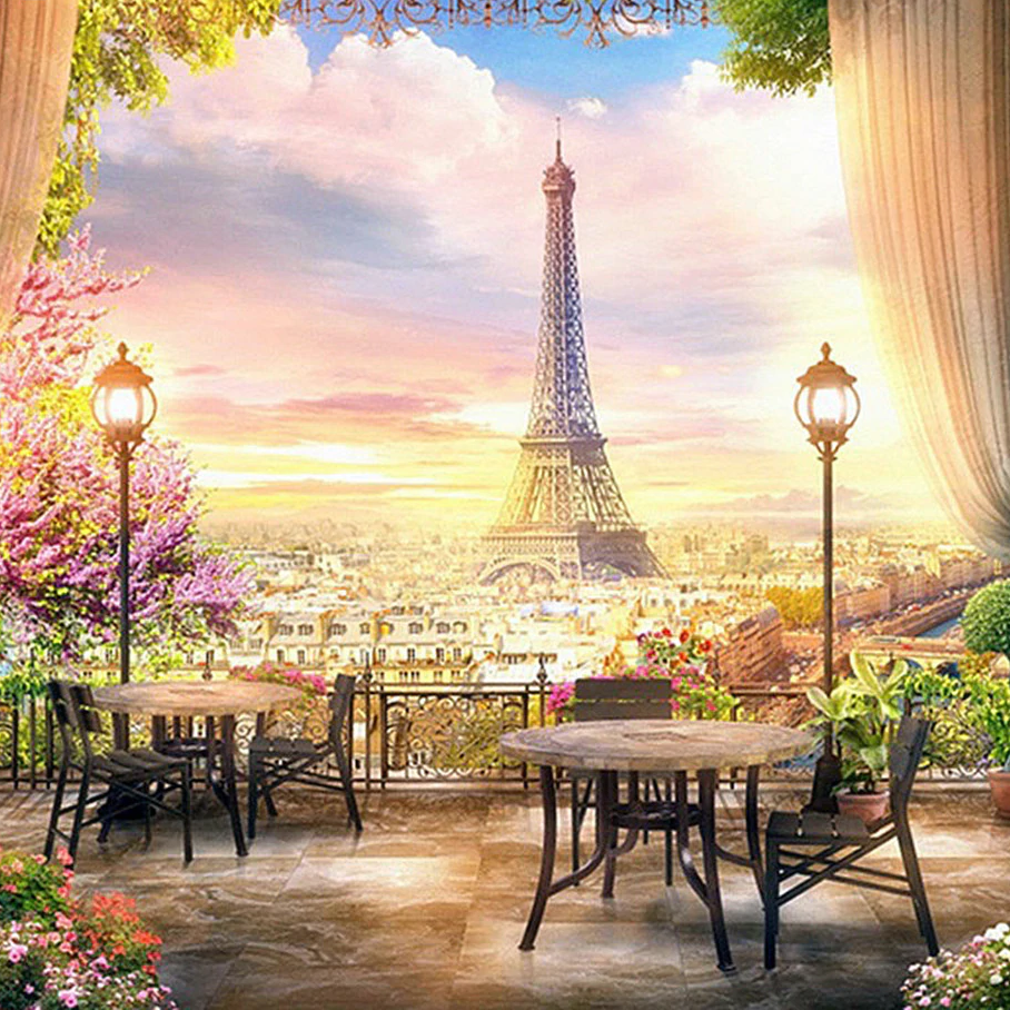 Paris Eiffel - Diamond Painting Kit