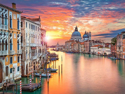 Venice Sunset - Diamond Painting Kit