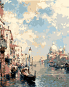 Cloudy Venice - Paint By Numbers Kit