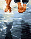 Dangling Feet - Paint By Numbers Kit