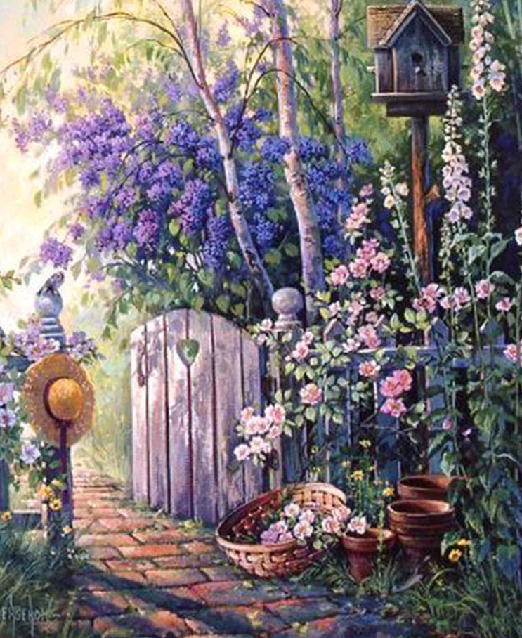 Garden Gate - Diamond Painting Kit