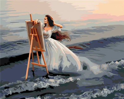 Painting By The Sea - Paint By Numbers Kit