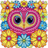 Pink Owl - Diamond Painting Kit