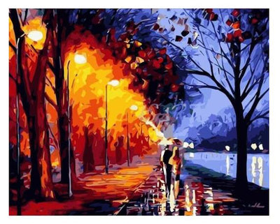 Night Walk - Paint By Numbers Kit