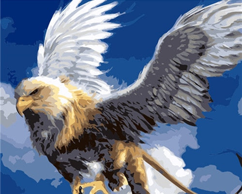 Bald Eagle Blue Sky - Paint By Numbers Kit