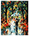 Rain Fog Wedding Day - Paint By Numbers Kit