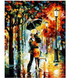 Rainy Night in The Park - Paint By Numbers Kit