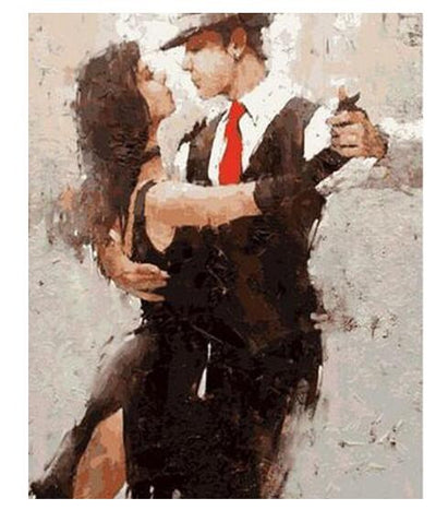 Couple of Dancers - Paint By Numbers Kit