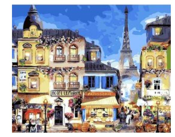 Paris Night - Paint By Numbers Kit