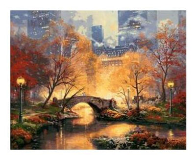 Manhattan Autumn - Paint By Numbers Kit