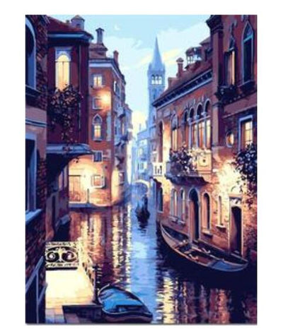 Lights of Venice - Paint By Numbers Kit