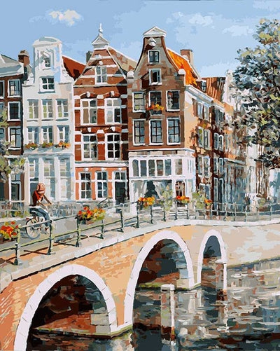 Amsterdam Day - Paint By Numbers Kit