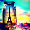 Eiffel Tower in a Jar - Diamond Painting Kit