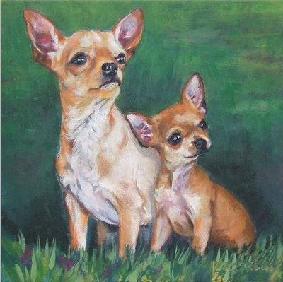 Chihuahua Mommy - Diamond Painting Kit