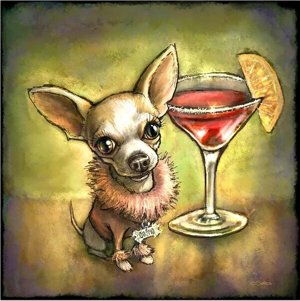 Margarita Chihuahua  - Diamond Painting Kit