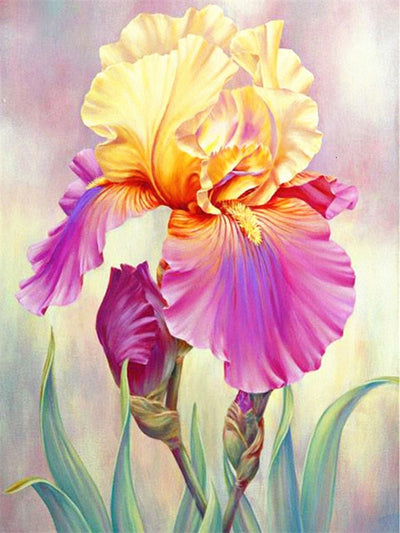 Spring Flowers 3 - Diamond Painting Kit