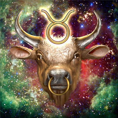Zodiac Taurus - Diamond Painting Kit