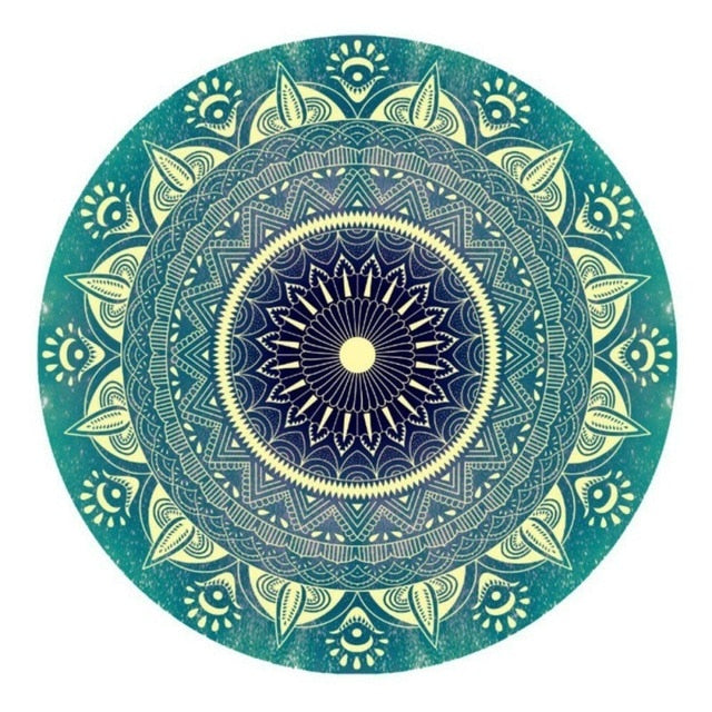 Mandala Green - Diamond Painting Kit