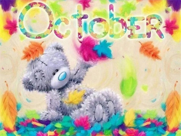 October - Diamond Painting Kit