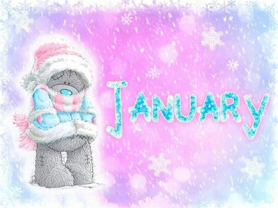 January - Diamond Painting Kit